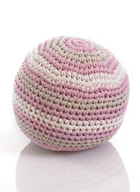 Pebble Pebble Organik Oyuncak-Top Pembe